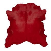 Calf Hair On Hide - Red thumbnail