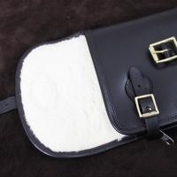 Leather Shotgun Slip with Flap, Buckle & Zip thumbnail