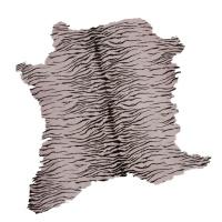 Calf Hair On With Print Hides - Pink thumbnail