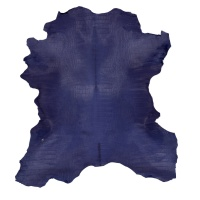 Calf Hair On With Print Hides - Blue thumbnail