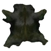 Calf Hair On Hide - Olive Green thumbnail